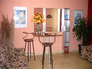 Вітальня - Casa Tania Cienfuegos