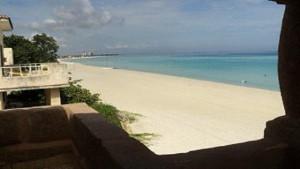 Vista a la playa desde la casa - Casa Garcia Dihigo Varadero