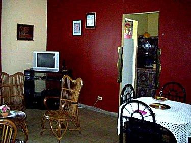 Sala de estar - Apartamento Liliana Vedado