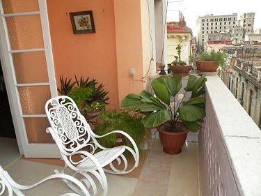Terraza - Hostal Lamparilla Habana Vieja