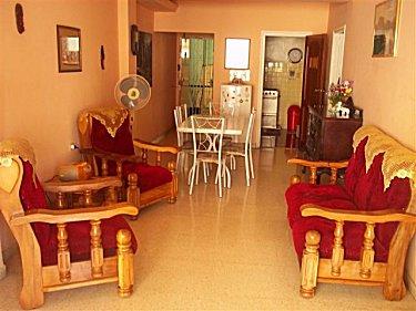 Sala y comedor - Apartamento #3 de Elizabeth en Centro Habana