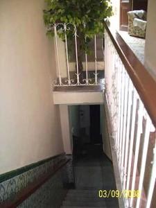 Escaleras de Casa de Mariluz en Centro Habana