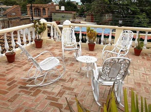 Terraza - Hostal Eloida en Trinidad