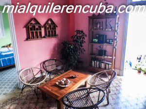 Sala de estar - Apartamento Mery en Vedado