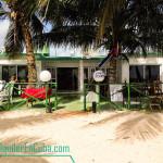 Vista desde la playa - Casa Sol y Caribe en Playa Larga