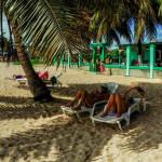 Vista panoramica de la playa - Casa Sol y Caribe en Playa Larga