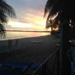 Atardecer - Casa Sol y Caribe en Playa Larga